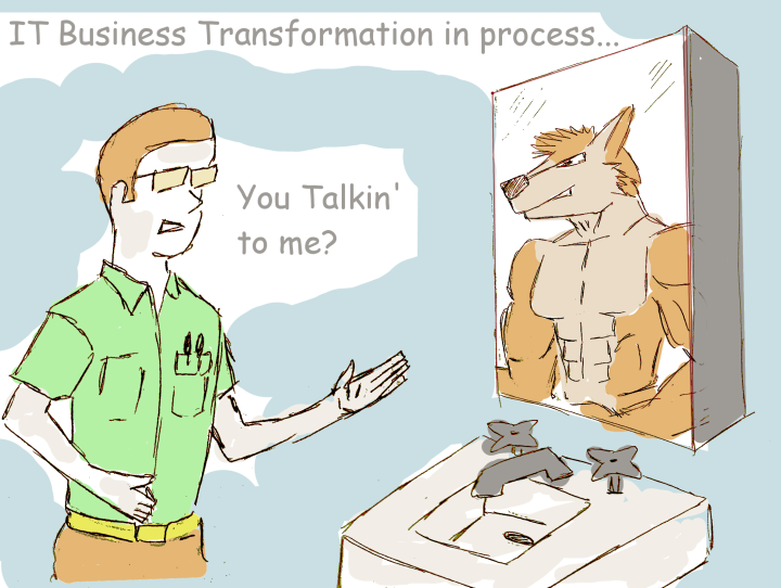 IT Business Transformation in process