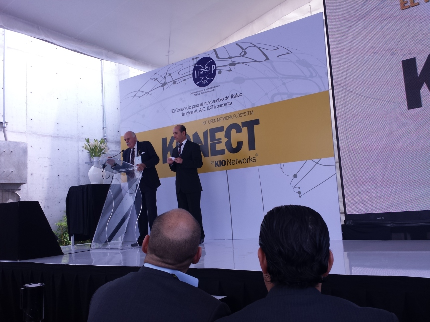 jose fonseca and carlos casasus IXP Kio Networks.com Mauricio Rojas