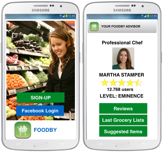 Vendor Relationship Management  App Example for Grocery stores