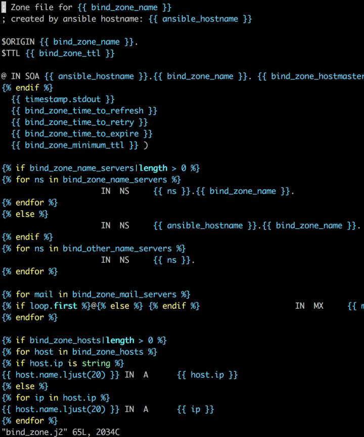 jinja-j2-ansible-file-syntax-on-vi