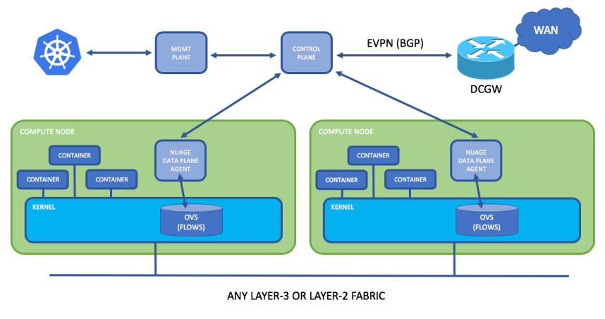 Nuage and Kubernetes Architecture